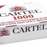 Tuburi Cartel 2 cutii x 1000 buc pentru injectat tutun - Foite tigari