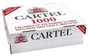 Tuburi   Cartel 2 cutii  x  1000  buc  pentru injectat tutun foto