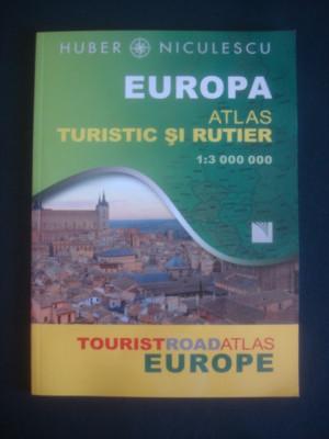 EUROPA ATLAS TURISTIC SI RUTIER foto