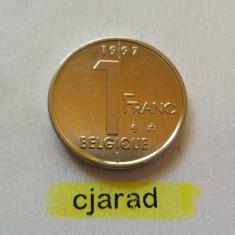 Moneda 1 Franc - Belgia 1997 *cod 901 --- A.UNC, Europa