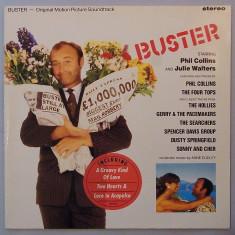 Buster - Original Motion Picture Soundtrack (1988, WEA) disc vinil LP - Muzica soundtrack