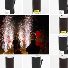 Artificii pentru evenimente de interior fara fum pentru dansul mirilor
