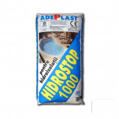 Tencuiala pentru hidroizolare cladiri Hidrostop 1000 - 30 kg - Ciment