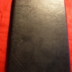 Clasor vechi de buzunar, 4 pag., coperti de calitate