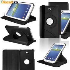 Husa rotativa 360 Samsung Galaxy Tab 3 SM-T210 T210 7'' P3200 P3210 + stylus