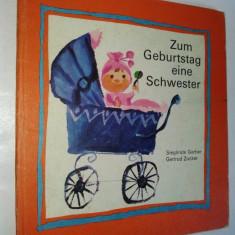 Zum geburtstag eine schwester (carte povesti in lb. germana) - Carte de povesti
