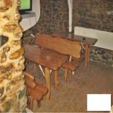 Masa cu 2 banci din brad Gardenland - MSI 003 - Banci de gradina