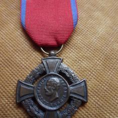 VIRTUTEA MILITARA CAROL DOMN 1880 CLASA II - Medalii Romania
