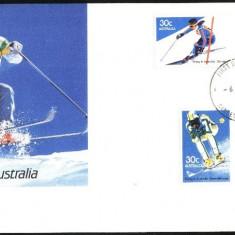 SCHI IN AUSTRALIA - FDC 1984