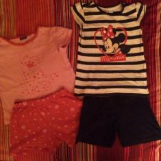 Set 2 pijamale bumbac Lupilu, impecabile, pt. 5-6 ani, Marime: 30, Culoare: Multicolor, Fete