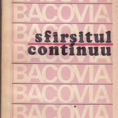 Ion Caraion - Bacovia - sfarsitul continuu