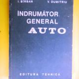 INDRUMATOR GENERAL AUTO I Barsan V Dumitriu - Carti auto