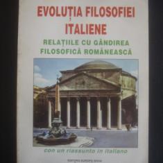 SIMION GHITA - EVOLUTIA FILOSOFIEI ITALIENE