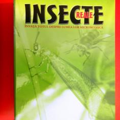 INSECTE REALE DeAgostini De la nr 1 la 20 Fara insecte Lipsesc numerele 9 si 19 - Carte Zoologie