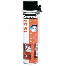 Spuma poliuretanica Ceresit TS 51 Winter - 750 ml