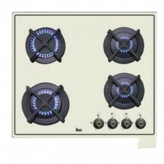 Plita gaz Teka ER 60 4G AI AL CI IVOIRE - Plita incorporabila Teka, Crem, Numar arzatoare: 4