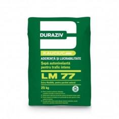 Sapa autonivelanta Duraziv cu Kauciuc LM 77 - 25 kg - Ciment