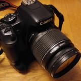 EOS Rebel XSi Black (450D) - DSLR Canon, Kit (cu obiectiv), 12 Mpx