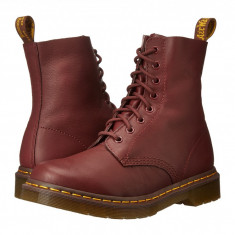 Dr. Martens Pascal 8-Eye Boot | Produs 100% original, import SUA, 10 zile lucratoare - z11409 - Gheata dama Dr Martens, Maro