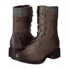 Timberland Whittemore Fabric and Leather Lace-Up   Produs 100% original, import SUA, 10 zile lucratoare - z11409 - Gheata dama