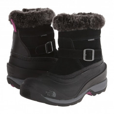 The North Face Chilkat III Pull-On | Produs 100% original, import SUA, 10 zile lucratoare - z11409 - Cizma dama The North Face, Cauciuc, Negru