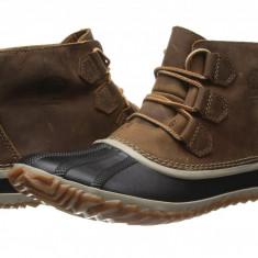 SOREL Out 'N About™ Leather | Produs 100% original, import SUA, 10 zile lucratoare - z11409 - Cizma dama Sorel, Piele naturala, Maro