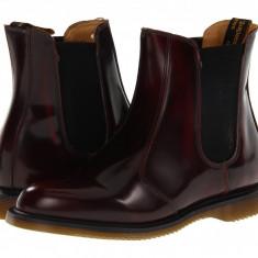 Dr. Martens Flora Chelsea Boot | Produs 100% original, import SUA, 10 zile lucratoare - z11409 - Gheata dama Dr Martens, Negru