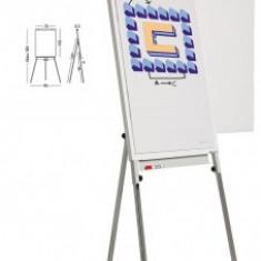 Flipchart magnetic, 105 x 70 cm, cu brate laterale, SMIT Standard Plus - Flipchart Birotica