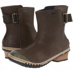 SOREL Slimboot™ Pull On | Produs 100% original, import SUA, 10 zile lucratoare - z11409 - Gheata dama Sorel, Piele naturala, Maro