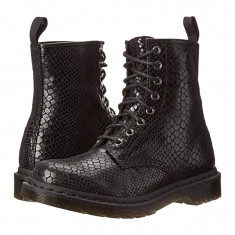 Dr. Martens 1460 8-Eye Boot | Produs 100% original, import SUA, 10 zile lucratoare - z11409 - Gheata dama Dr Martens, Negru