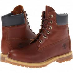 "Timberland 6"" Premium Boot   Produs 100% original, import SUA, 10 zile lucratoare - z11409 - Gheata dama Timberland, Maro"