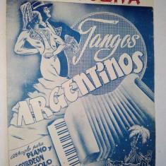 Partitura pentru pian si acordeon Tangolita - Tangos Argentinos