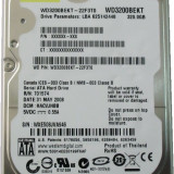 HDD Laptop Western Digital 320GB 7200RPM 16MB CACHE SATA2 WD3200BEKT Scorpio Black