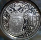 50 BANI 2013 MIRCEA BRILLIANT UNC PROOF EMISIUNE SPECIALA TIRAJ 1000 EXEMPLARE