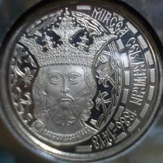 50 BANI 2013 MIRCEA BRILLIANT UNC PROOF EMISIUNE SPECIALA TIRAJ 1000 EXEMPLARE - Moneda Romania