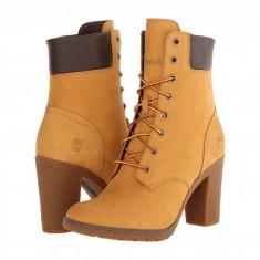 "Timberland Earthkeepers Glancy 6"" Boot   Produs 100% original, import SUA, 10 zile lucratoare - z11409 - Gheata dama Timberland, Piele naturala, Camel"
