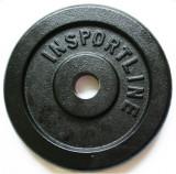Greutate fier inSPORTline 20kg/30mm, Discuri greutati