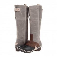 SOREL Slimpack Riding™ | Produs 100% original, import SUA, 10 zile lucratoare - z11409 - Cizma dama Sorel, Piele naturala, Gri