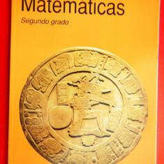 MATEMATICAS Secundo grado Matematica clasa a II a - Carte in spaniola