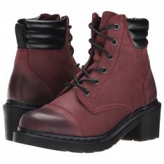 Dr. Martens Alexandra 6-Eye Padded Collar Boot | Produs 100% original, import SUA, 10 zile lucratoare - z11409 - Ghete dama