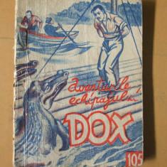 DOX aventurile echipajului 1935 numarul 105  Piratii Gangelui H. Warren