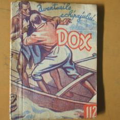 DOX aventurile echipajului 1935 numarul 112  Piratii fluviului Sabi H. Warren