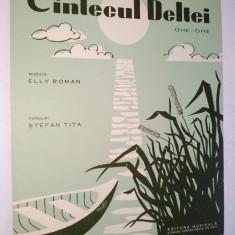 Partitura Cantecul Deltei Ohe - Ohe Elly Roman - R.P.R.
