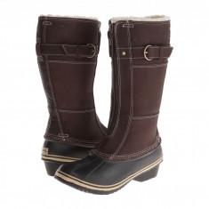 SOREL Winter Fancy™ Tall II | Produs 100% original, import SUA, 10 zile lucratoare - z11409 - Cizma dama Sorel, Piele naturala, Maro