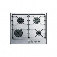 Plita incorporabila pe gaz cu finisaje din inox iXelium Whirlpool - AKT 620 IXL, Argintiu, Numar arzatoare: 4