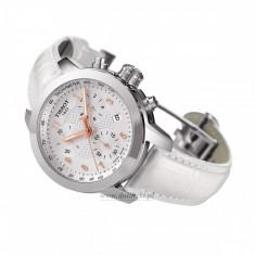 Ceas Tissot PRC 200 Lady Chronograph - Ceas dama Tissot, Fashion, Quartz, Inox, Piele, Cronograf