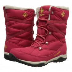 Columbia Minx™ Fire Tall Omni-Heat™ Waterproof | Produs 100% original, import SUA, 10 zile lucratoare - z11409 - Cizma dama Columbia, Textil, Rosu