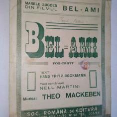 Partitura Bel-Ami, Fox Trott / Muzica : Theo Mackeben
