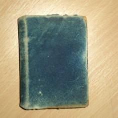 ALFRED DE MUSSET, PREMIERES POESIES, PARIS 1899, EX LIBRIS GHIKA DELENI - Carte veche