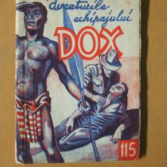 DOX aventurile echipajului 1935 numarul 115  Zeita de aur H. Warren
